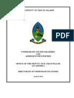 Admission Handbook 2013-2014