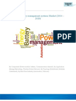 Global Battery management systems Market