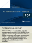 Getting to Know Internal Auditing (1)