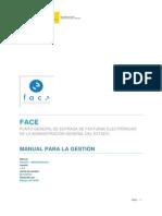 FACe - Manual de Organismos 1-2