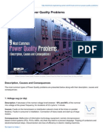 9 Most Common Power Quality Problems