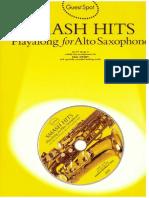 Paul Honey - Smash Hits - Playalong for Alto Saxophone