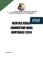 Kertas Kerja Hari Kop 2014