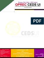 Template Essay Oprec CEDS 2015