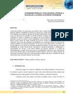 EAD NO ENSINO SUPERIOR PÚBLICOUMA POLÍTICA PÚBLICA PARA DEMOCRATIZAR O ACESSO AO ENSINO SUPERIOR.pdf