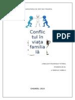 Conflictul În Viața Familială