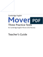 Practice Tests for YLE Movers Teacher-s-Guide