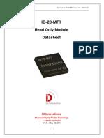 ID-20MF7 RFID Read Only Module Mifare 13,56MHz HF
