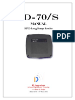 ID-70s RFID Reader Long Range 125KHz LF