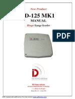 ID-125 LF 125KHz RFID Long Range Reader
