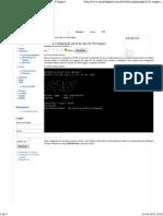 Nagios 001 - Configuração Inicial Da Rede Do FAN Nagios