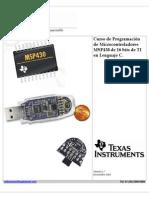 Programacion MSP430 TI Version 1 7 Noviembre
