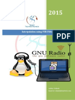 Interpolation in GNU Radio