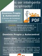 Dominio y Autocontrol