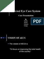 Case Study - Aravind Eye