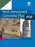 Post Tensioned Floor Slabs