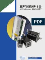 Kollmorgen .Servostar600 With GoldLine XT TB Catalog