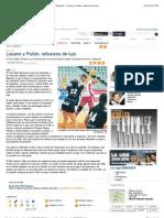 La Nueva España - Diario Independiente de Asturias - Deportes - Lozano y Pulido, refuerzos de lujo