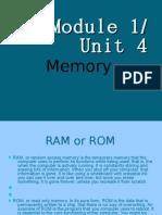 Module 1 / Unit 4