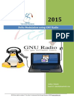 Delta Modulation Using GNU Radio