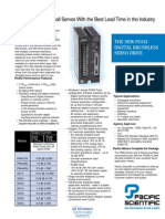 Kollmorgen PC832 Servo Drive TB Specsheet