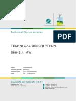Suzlon S88 Wind Turbine Technical Description