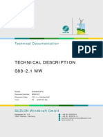 Suzlon S88 Wind Turbine Technical Description
