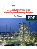 Shell Residue Fluidized Catalytic Cracking Process