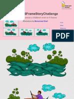 Muhammed Shafi's Illustrations for the #6FrameStoryChallenge