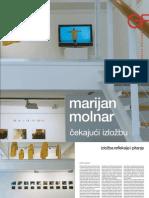 Katalog Marijan Molnar - čekajući izložbu