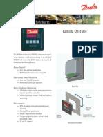 DANFOSS - Esquema de ligação IHM MCD3000