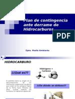 Plan de Contingencia Ante Derrame de Hidrocarburos