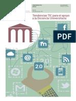 Tendencias TIC Docencia