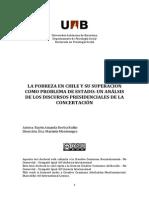 POBREZA EN CHILE Y SU ENFRENTAMIENTO COMO PROBLEMA DE ESTADO