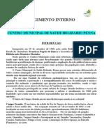 Regimento Interno Cms Belizario Penna 2015