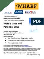Wharf CBE Open House 2-10-15