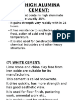 Testing of Cement and its types