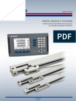 RSF Electronik Digital Readouts Systems Catalog