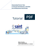 Tutorial Sistema Saint