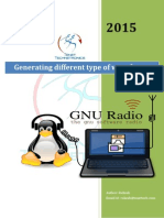 Genrating Waveforms in GNU Radio