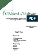 Acidosis Alkalosis Biochemistry