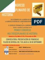 Congreso nacional de historia