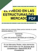 1.0 - Precio en Las Estructuras Del Mercado