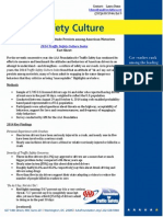 AAA 2014 Traffic Safety Culture Index Fact Sheet