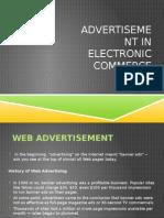 Advertisement in E-Commerce