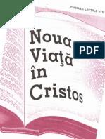 Noua Viaţă în Hristos, Curs 1, book 6/6