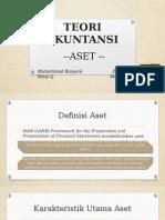 Teori Akuntansi - Aset-