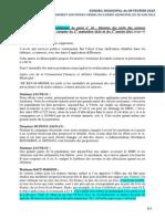 Amendement PV du CM du 24 novembre 2014