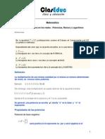 04 - %C1lgebra en Los Reales - Potencias, Ra%EDces y Logaritmos