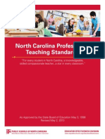 Prof Teach Standards